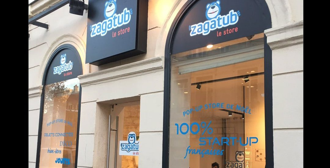 Zagatub ouvre son pop-up store de Noël